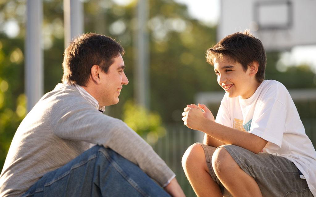 زمان خصوصی با فرزندان